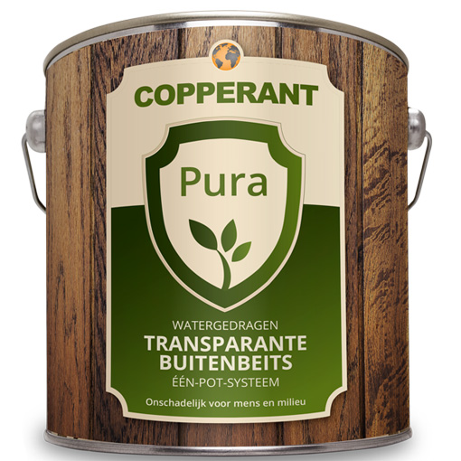 Copperant Pura transparante buitenbeits